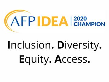 AFP I.D.E.A. Champion 2020 logo