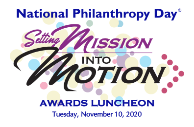 "NPD 2020 logo ""Setting Mission into Motion"""