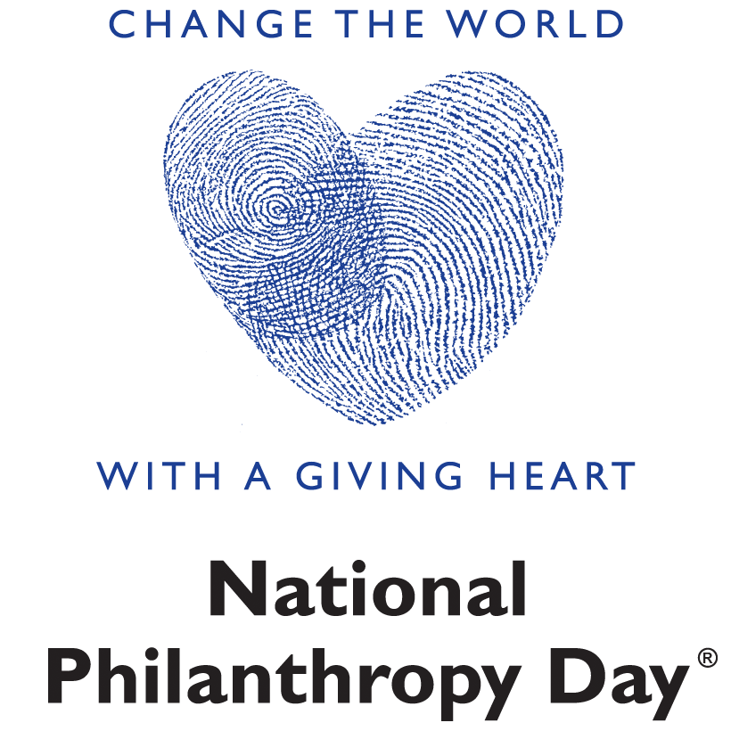 "NPD ""change the world with a giving heart"" logo"