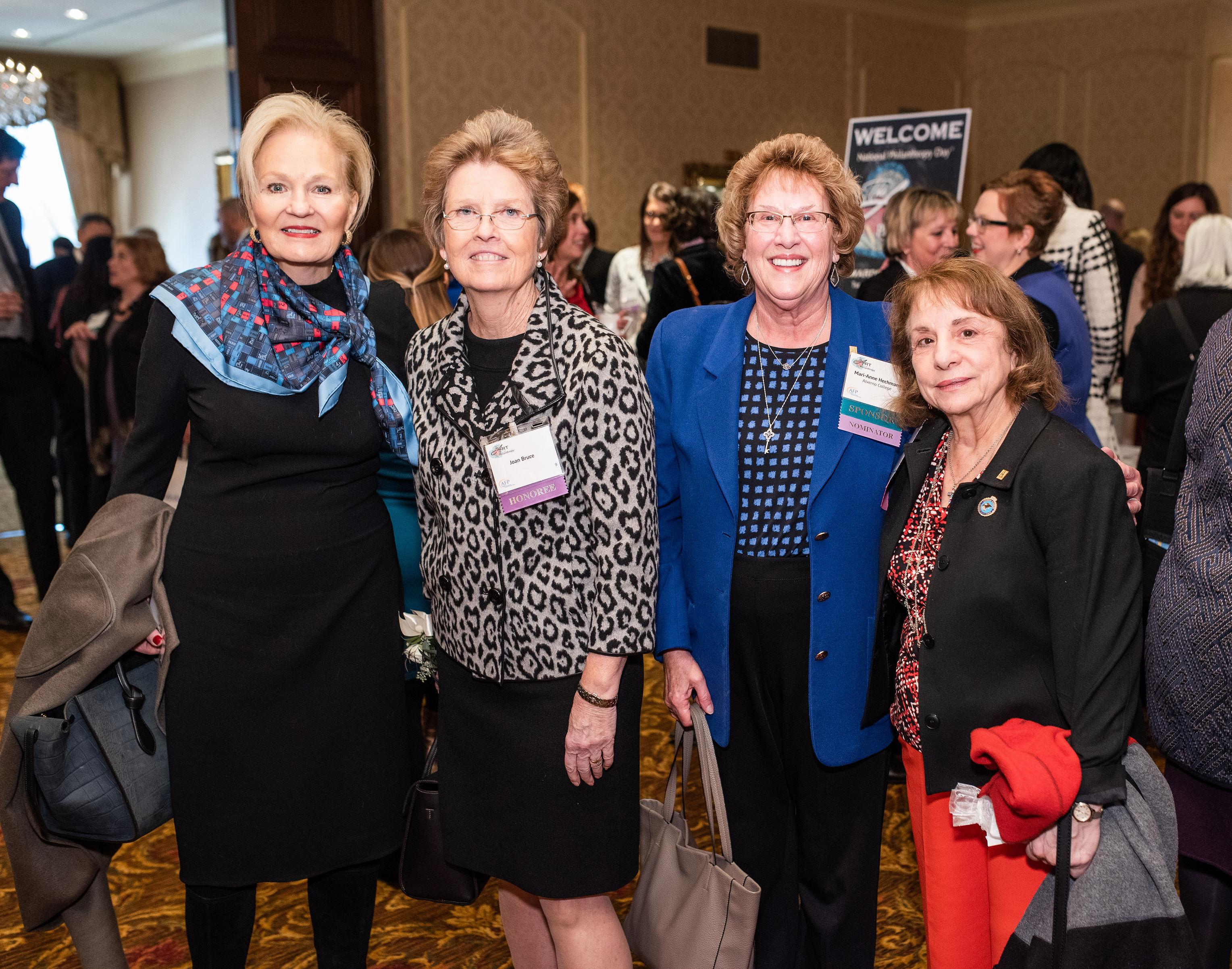 2019 NPD Honoree Joan Bruce and friends